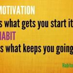 Buenos hábitos - Motivación & Hábito
