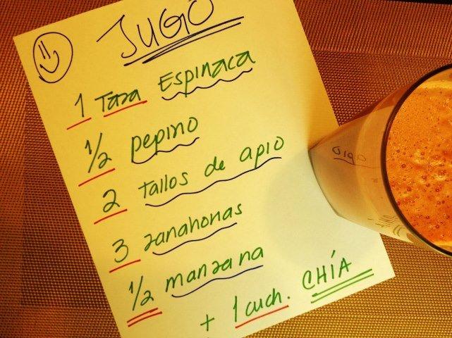 Juicing – jugo por si te sientes extreñida al tomar jugo