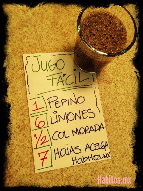Juicing - jugo para el sistema inmunológico