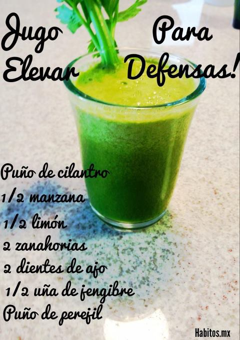 Juicing - jugo para elevar defensas