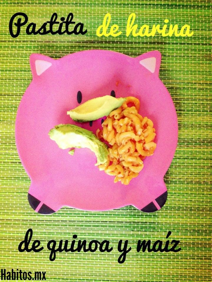 pastita de harina de quinoa