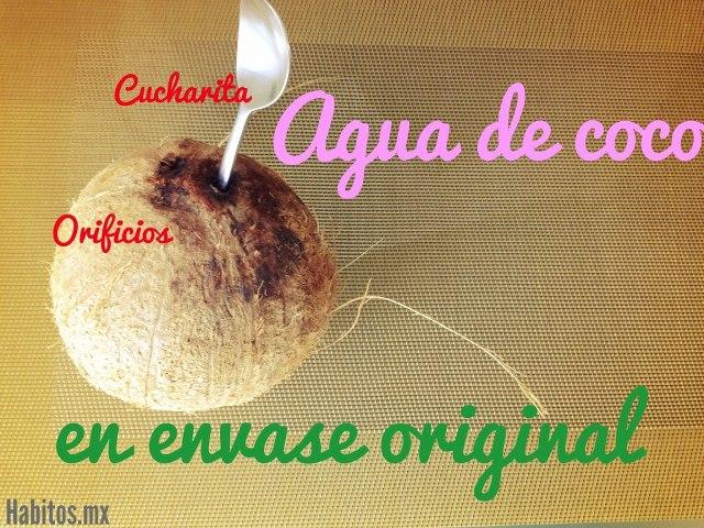 Recetas - sacar agua de coco 1