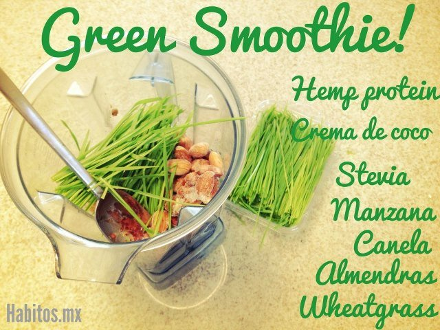 Smoothies - gs wheatgrass