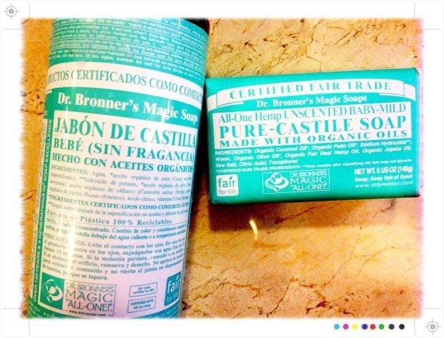 Buenos hábitos - shampoo y jabones naturales