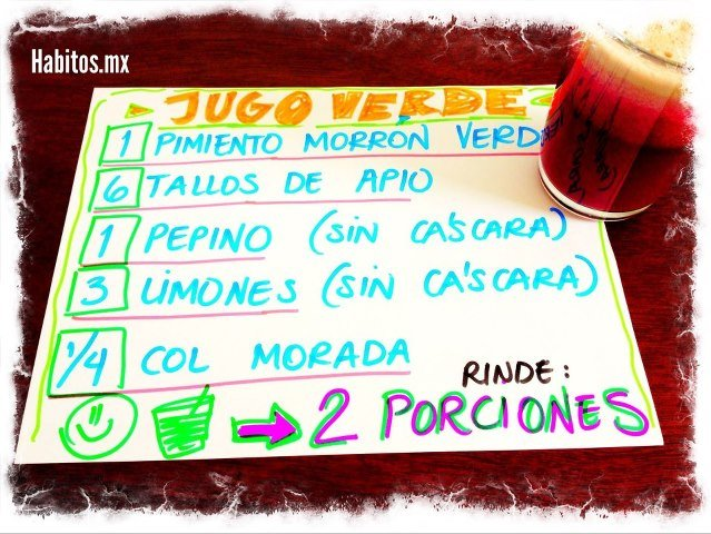 Juicing - jugo para levantar