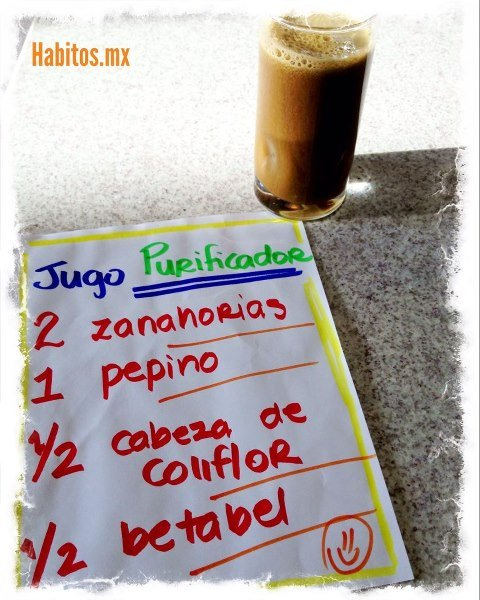 Juicing - jugo purificador