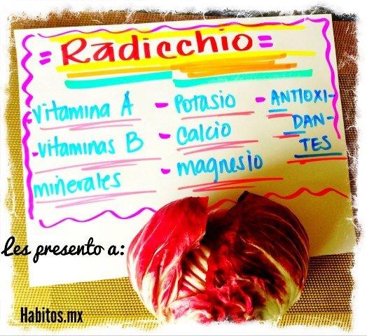 Recetas - radicchio