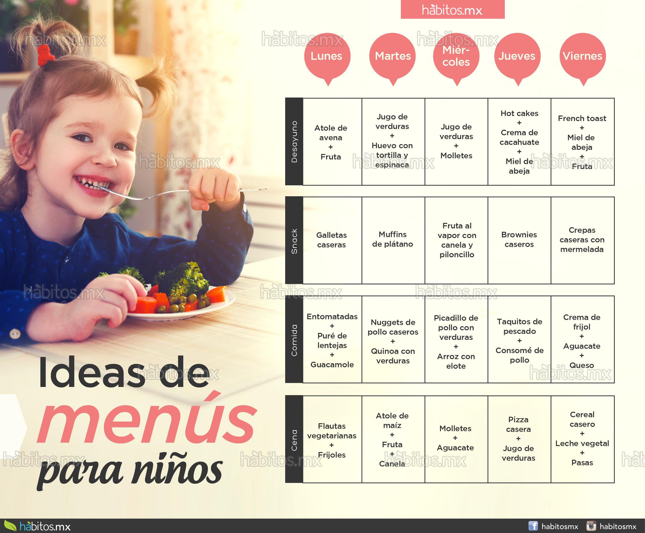 menús niños 2