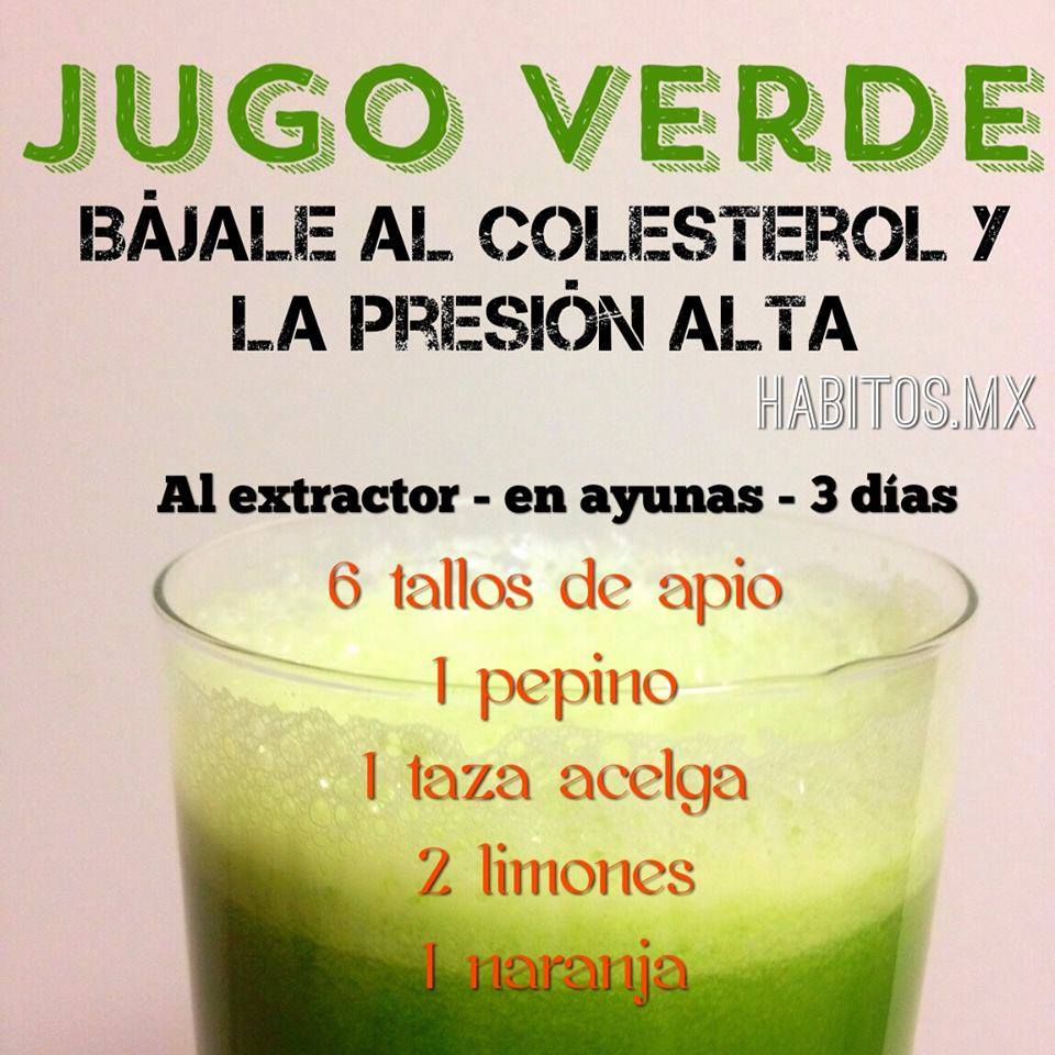 Hábitos Health Coaching | Jugo verde: ¡Bájale al
