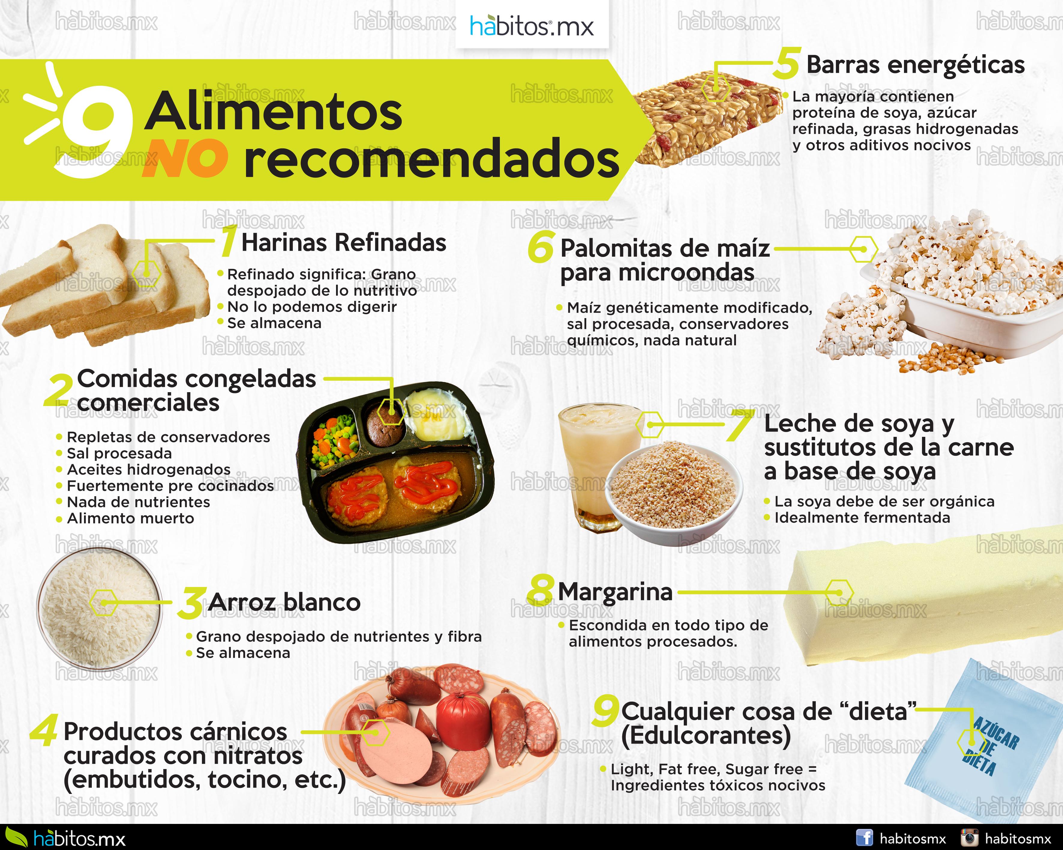 9 formas de destruir tu salud al comer alimentos procesados
