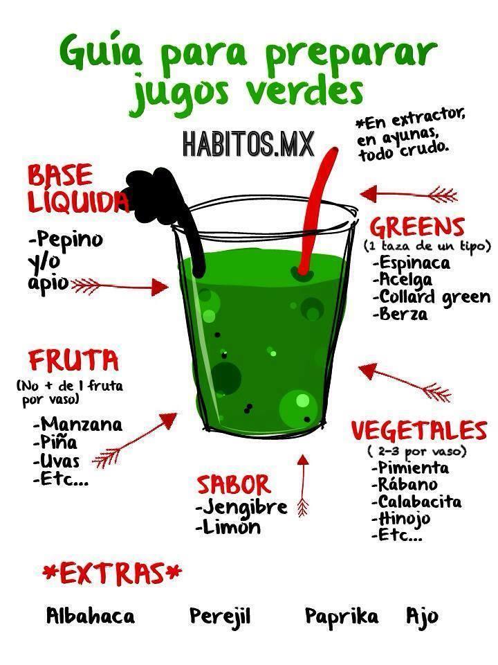 H bitos health coaching gu a para preparar jugos verdes - Guia para construir ...