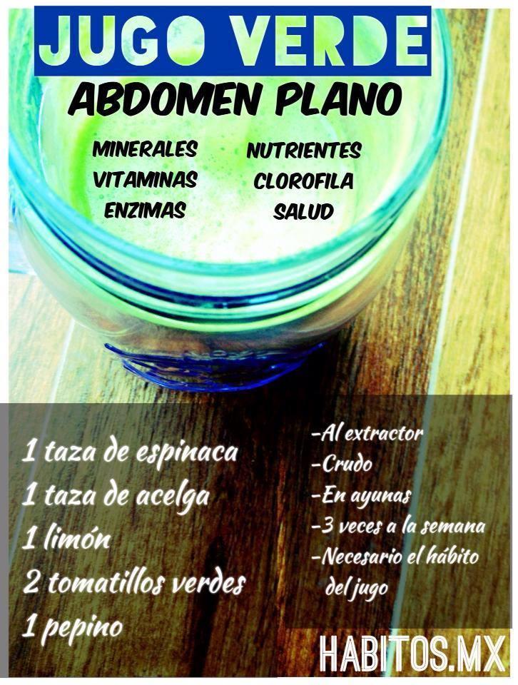 8 recetas de efectivos jugos para quemar grasa abdominal