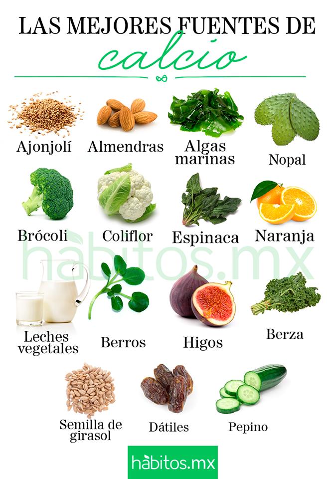 H bitos health coaching las mejores fuentes de calcio - Alimentos naturales ricos en calcio ...