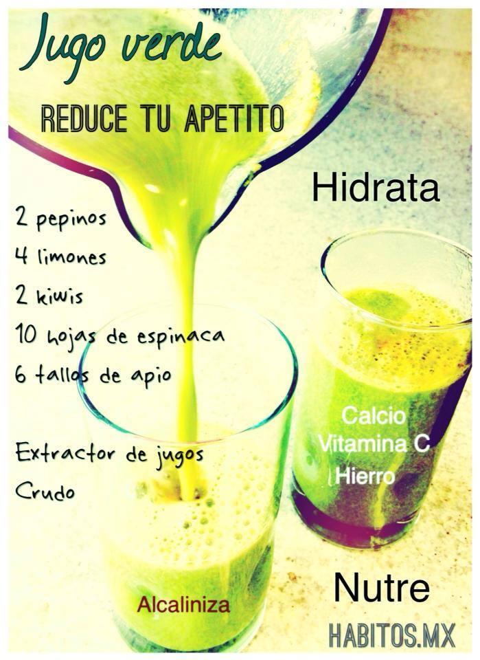 Hábitos Health Coaching | Jugo verde: ¡Reduce tu apetito!