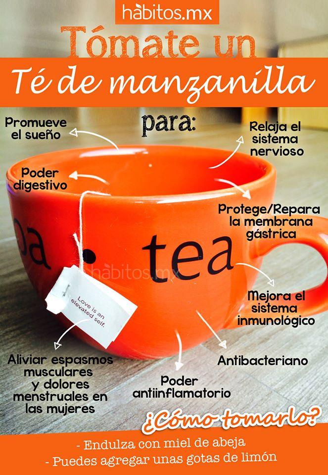 Hábitos Health Coaching | Tómate un té de manzanilla