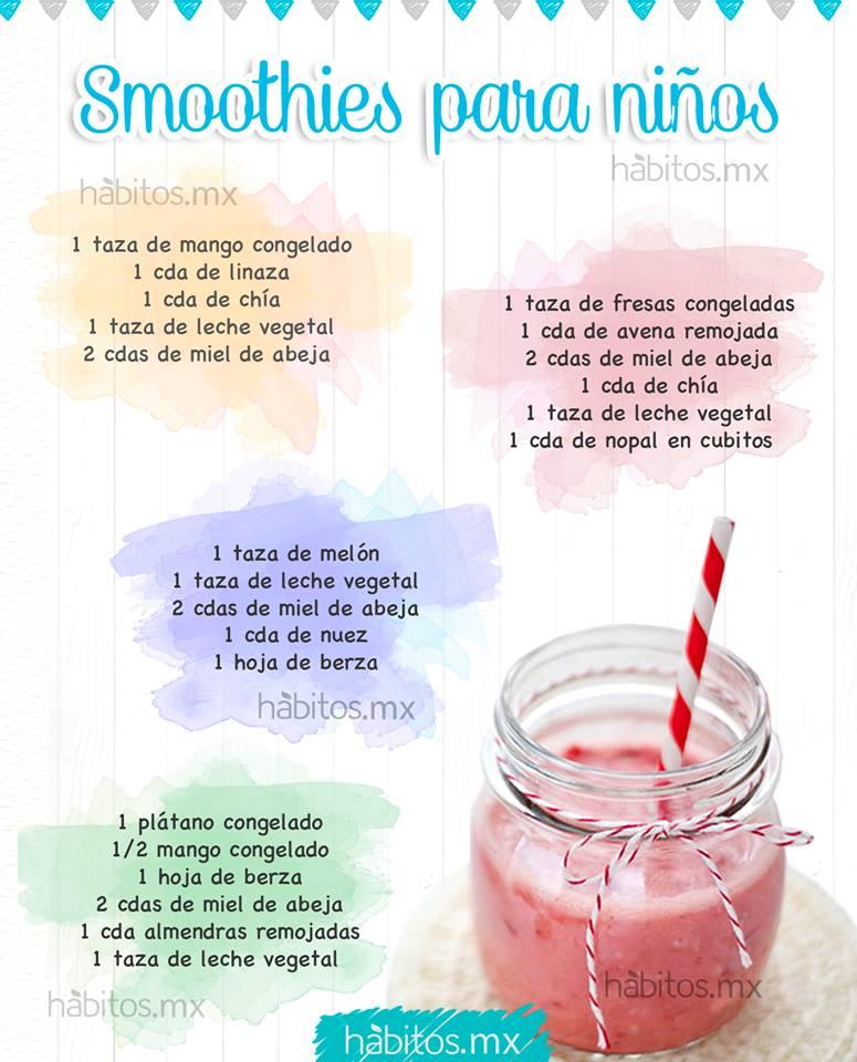 Hbitos Health Coaching UNOS RICOS SMOOTHIES PARA NIOS