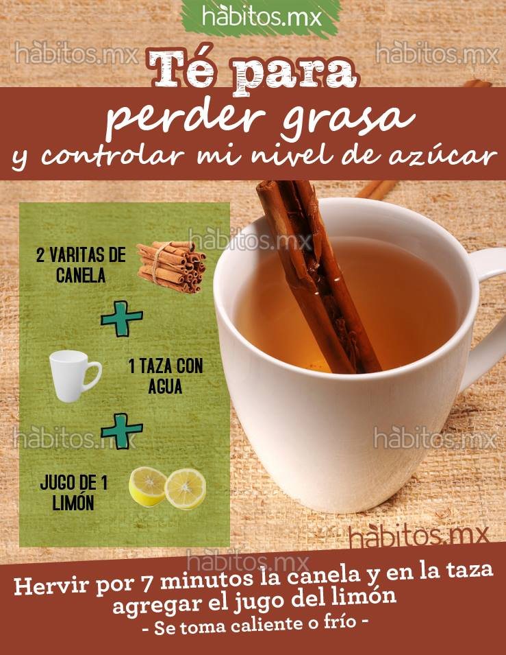 TÉ PARA PERDER GRASA – Hábitos Health Coaching