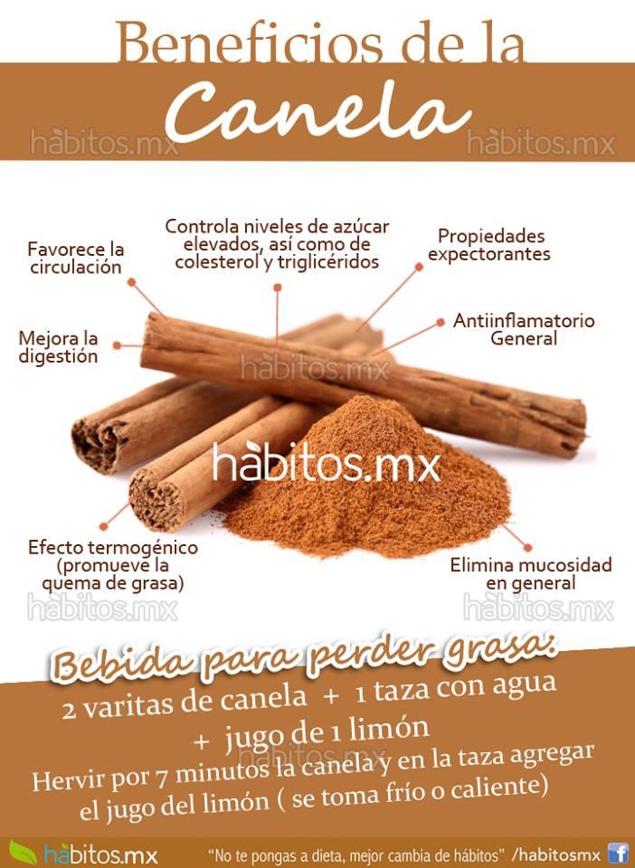 Hábitos Health Coaching   Beneficios de la rica canela!!!