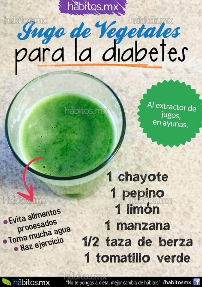 Hábitos Health Coaching   JUGO DE VEGETALES PARA LA DIABETES