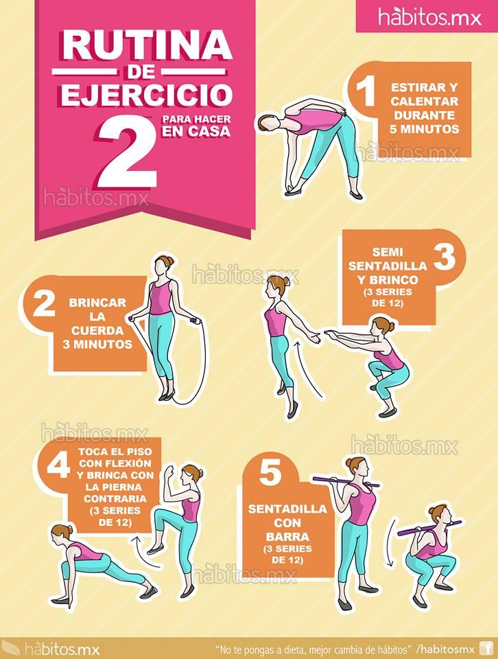 H bitos health coaching rutina de ejercicio 2 para hacer en casa - Aplicaciones para hacer deporte en casa ...