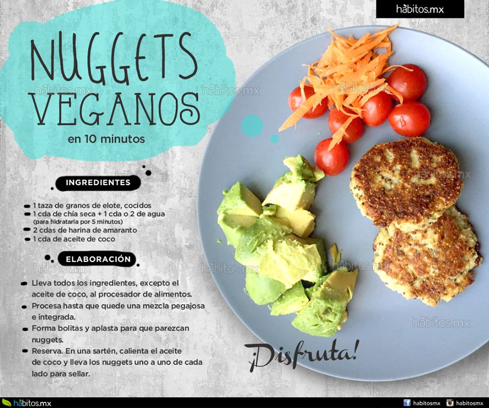 H bitos health coaching nuggets veganos en 10 minutos for Cocinar en 10 minutos