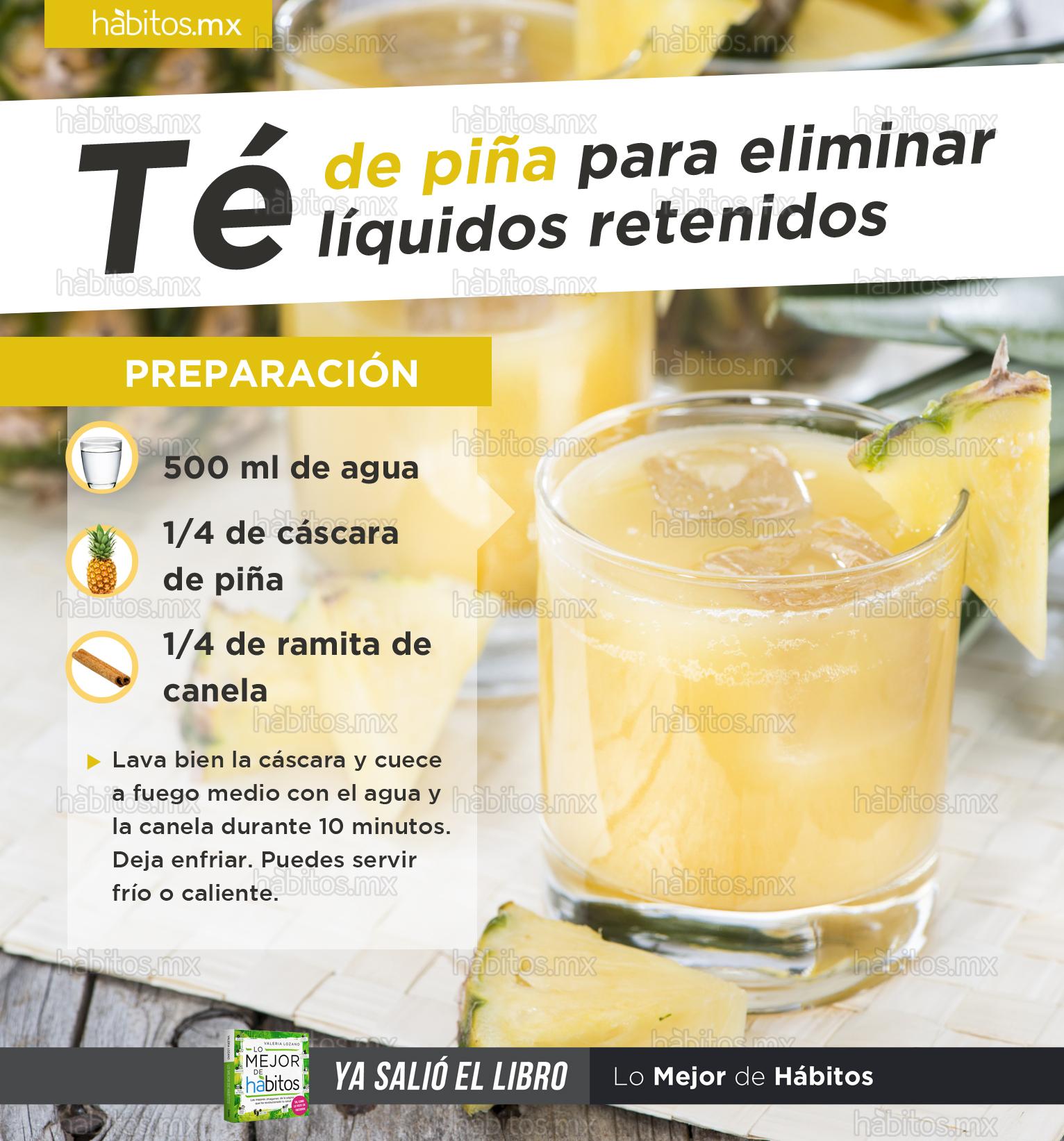 Cómo eliminar líquidos retenidos